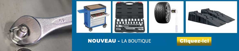 Boutique outils